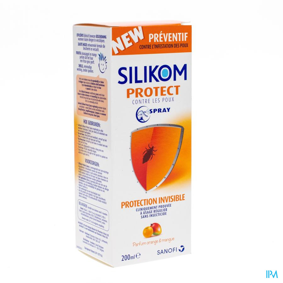 Silikom protect lotion anti-luizen 200 ml