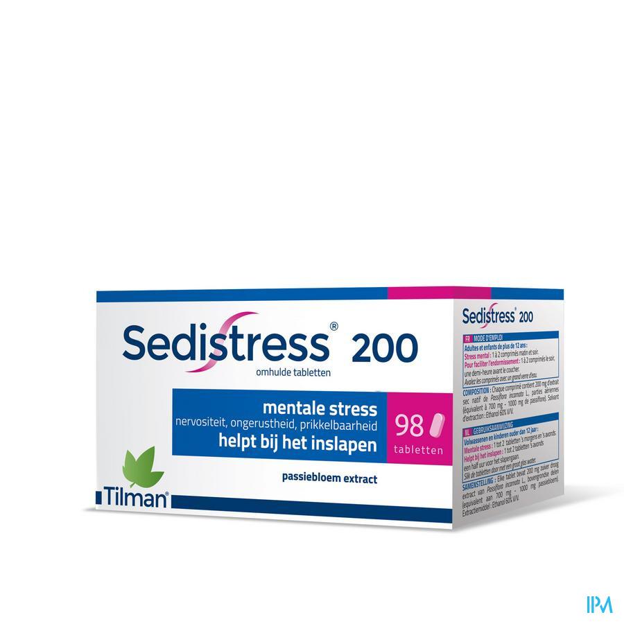 Sedistress 200 / 98 tabletten