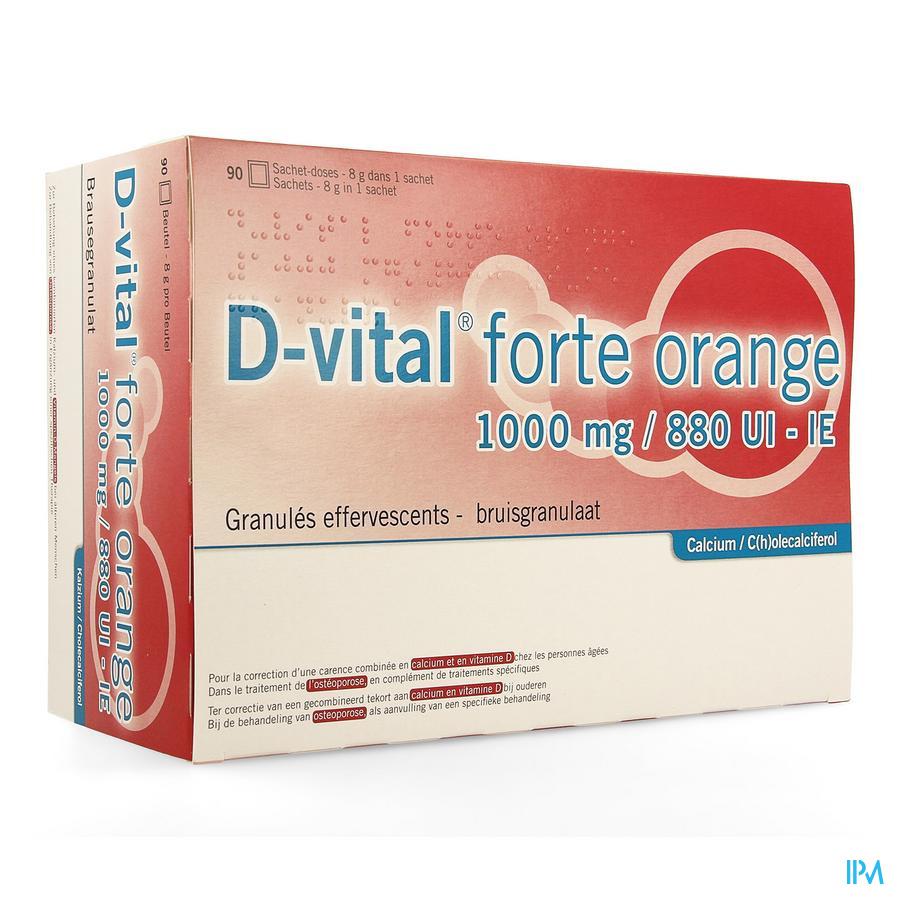 D vital forte / 90 zakjes
