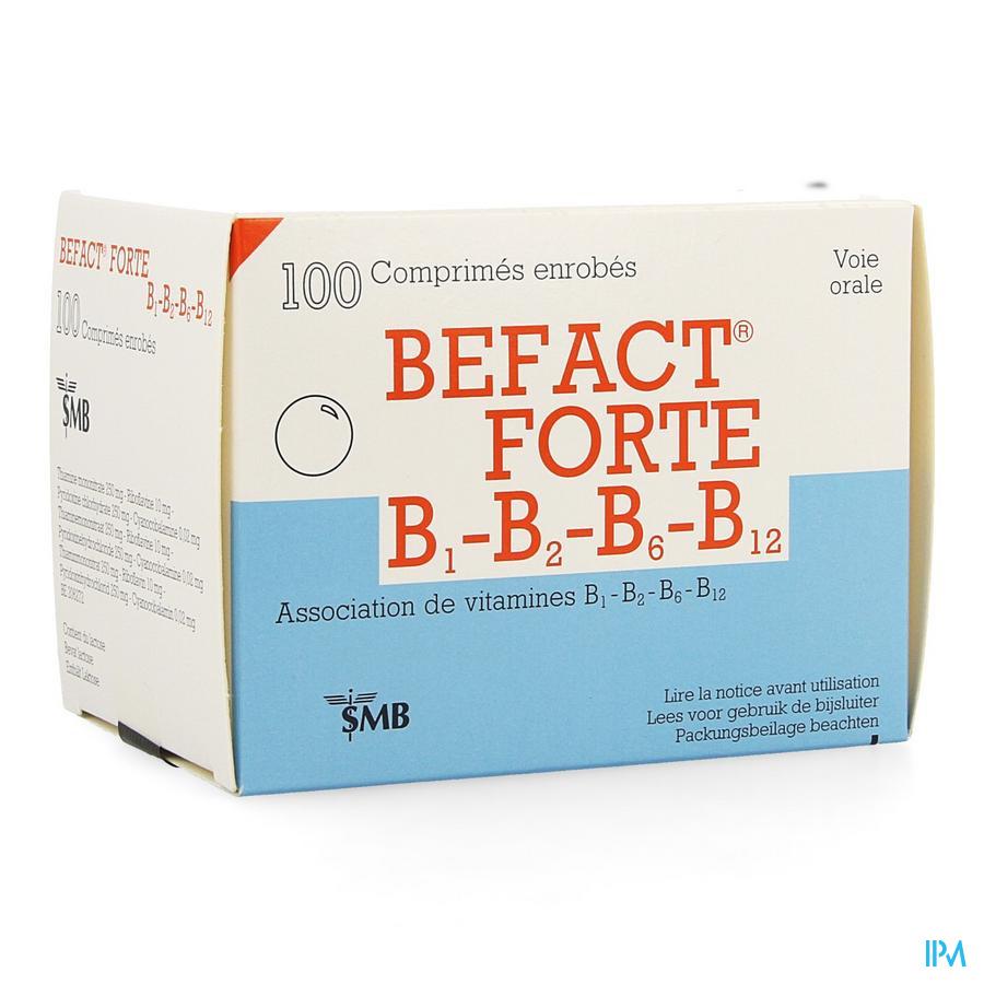Befact forte / 100 tabletten