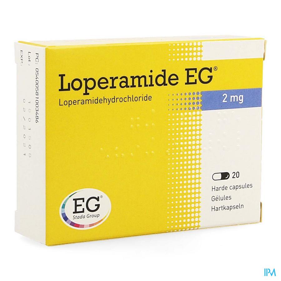Loperamide EG / 20 capsules