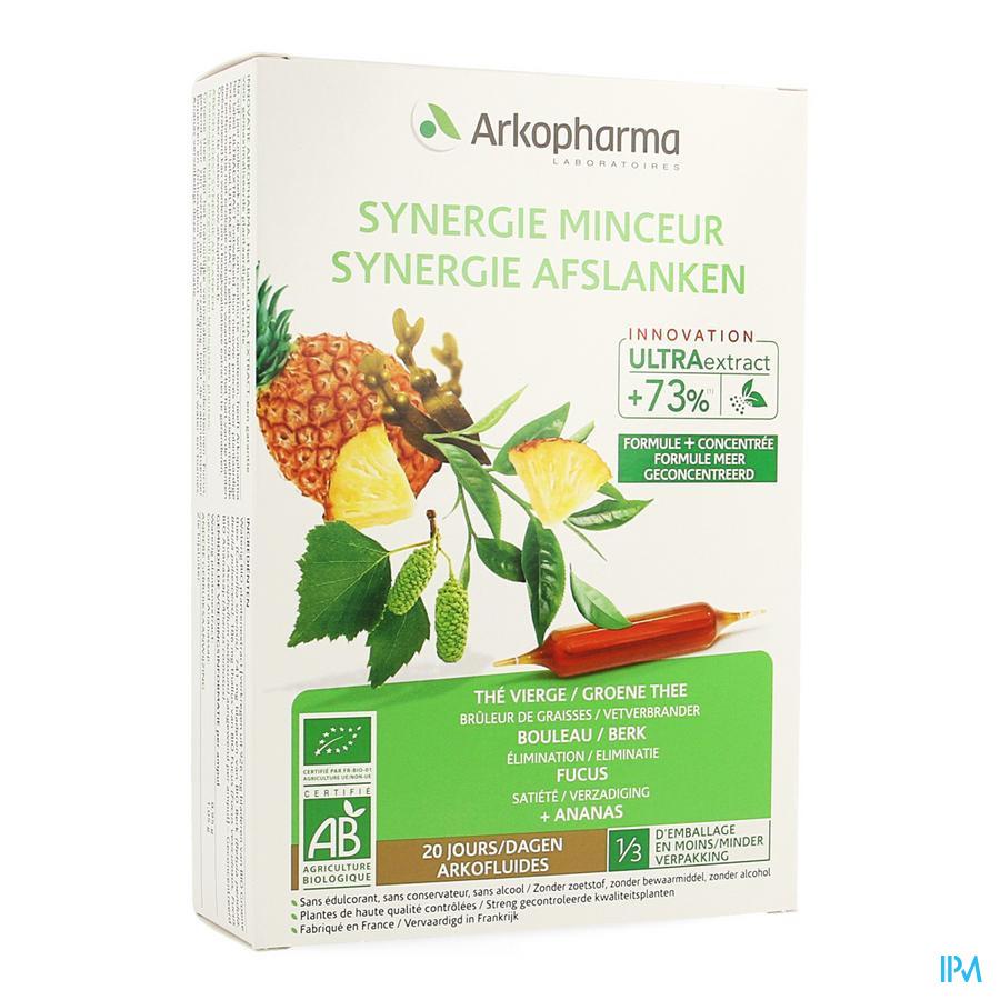 Arkofluide Synergie Afslanken Bio 20 ampules