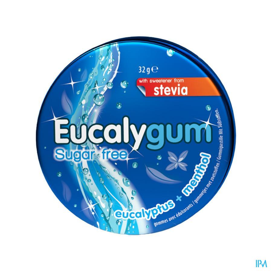 Eucalygum zonder suiker