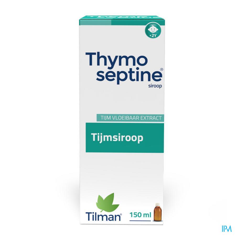 Thymoseptine siroop (150ml)