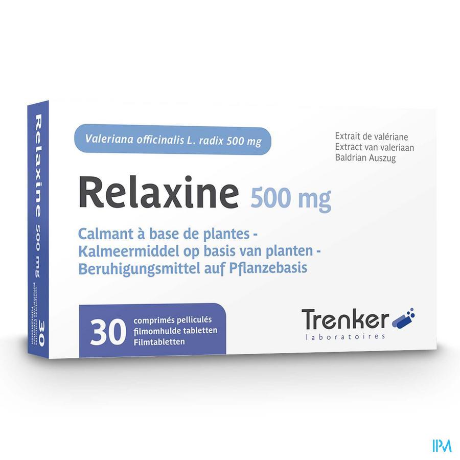 Relaxine 500 mg filmomh tabl 30