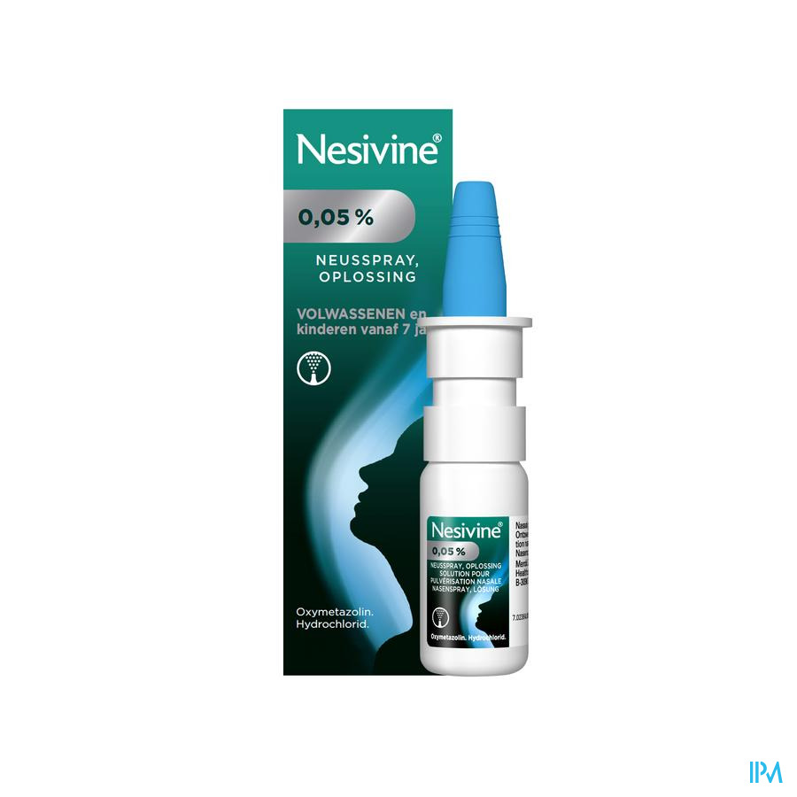 Nesivine volwassenen spray 10 ml