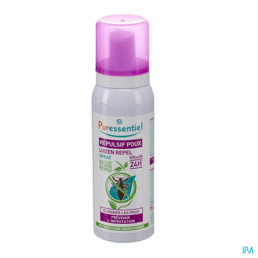 Puressentiel anti-luizen repel spray