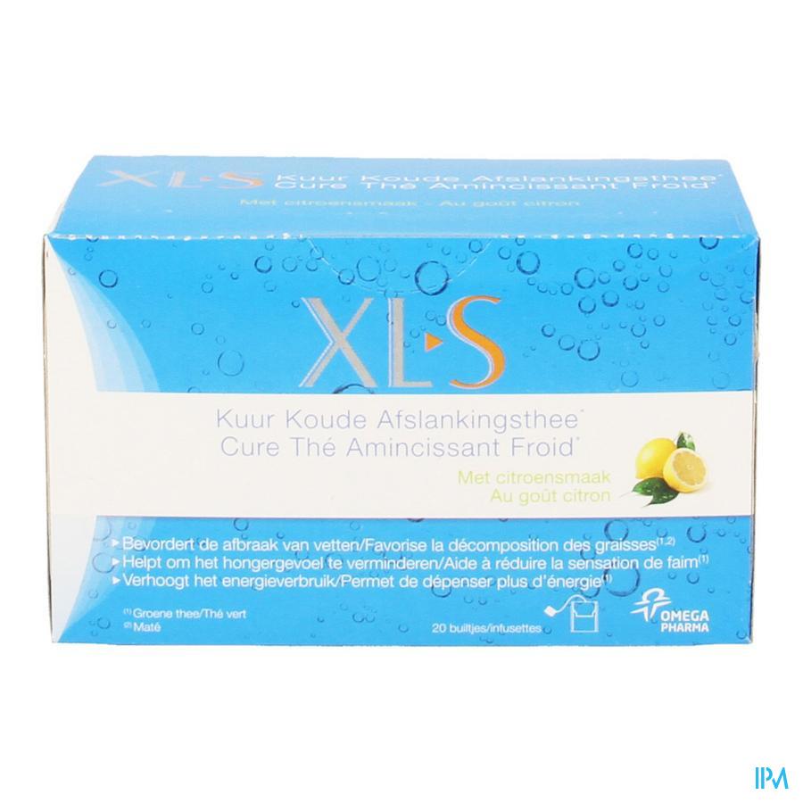 XLS Kuur Koude Afslankthee 20 zakjes
