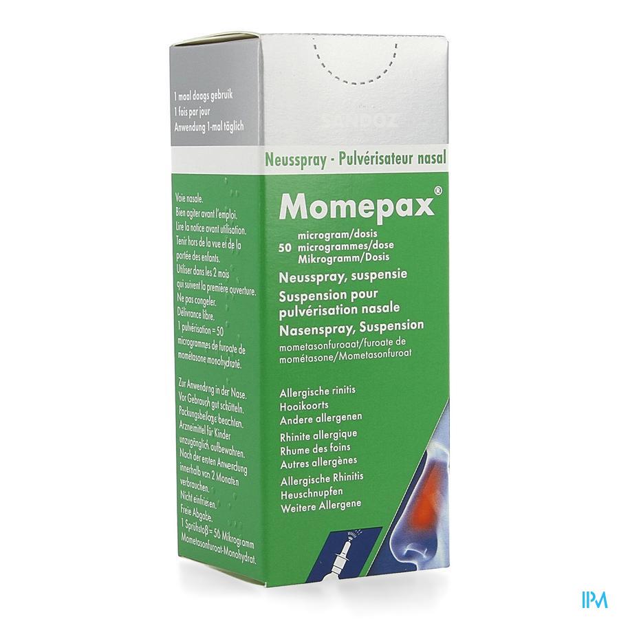 Momepax anti-allergiespray 50 mcg 1 flesje