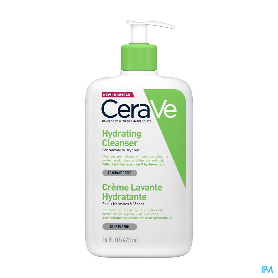 Cerave Crème Reiniging Hydraterend 473ml
