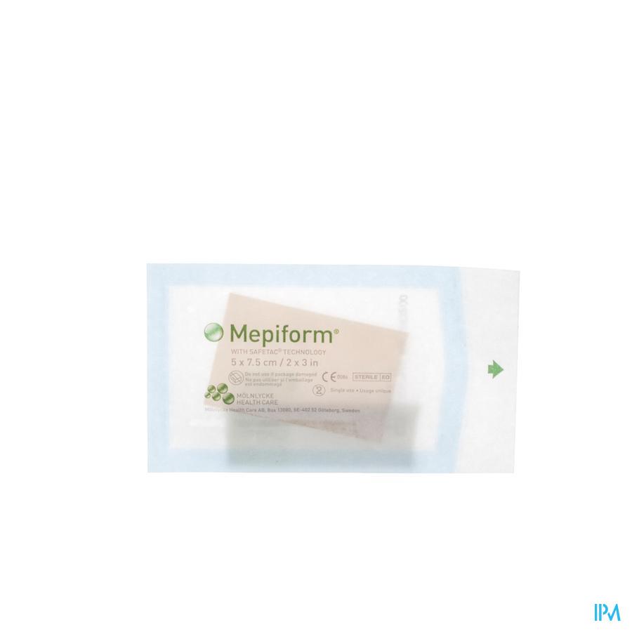 Mepiform - Littekenverband 5x7,5cm