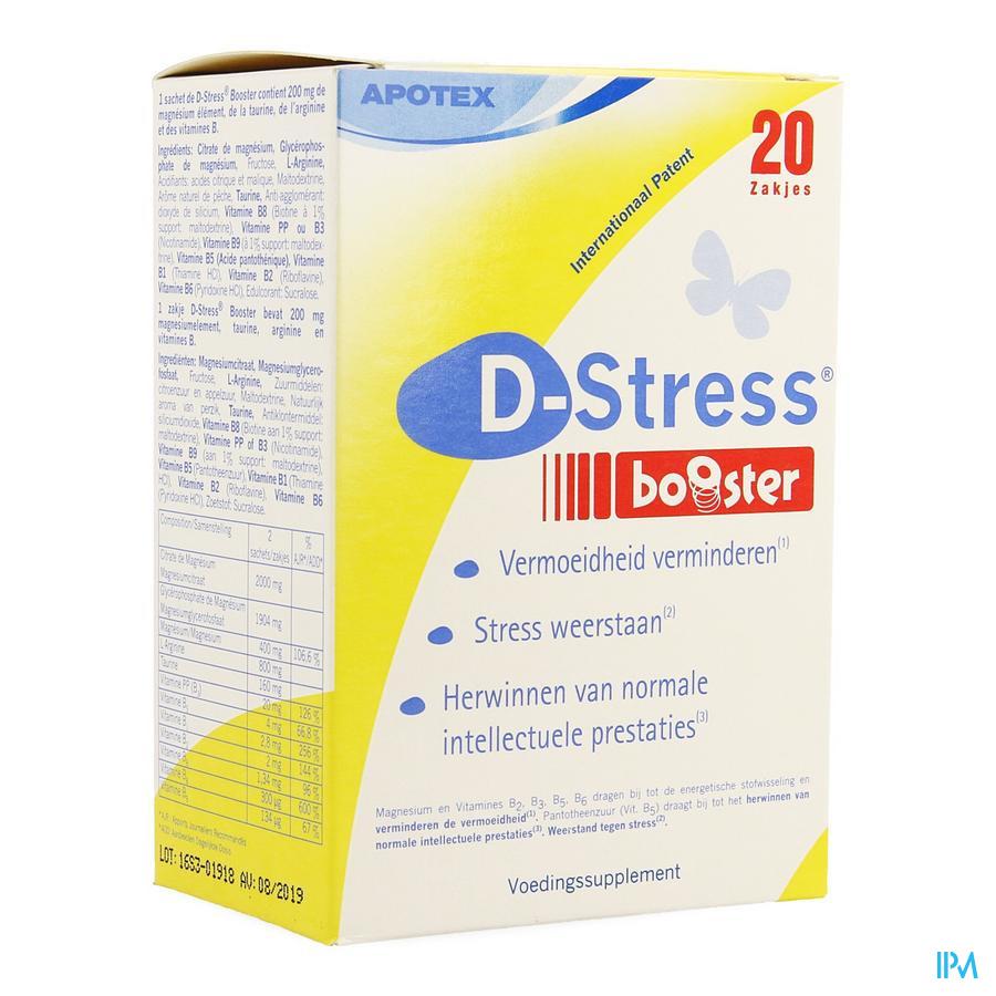 D- Stress Booster 20 zakjes