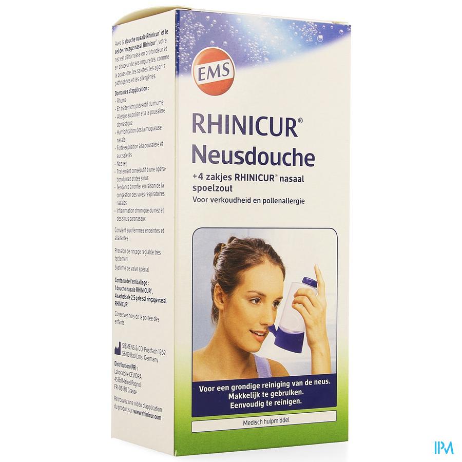 Rhinicur Neusdouche + 4 Zakjes Spoelzout
