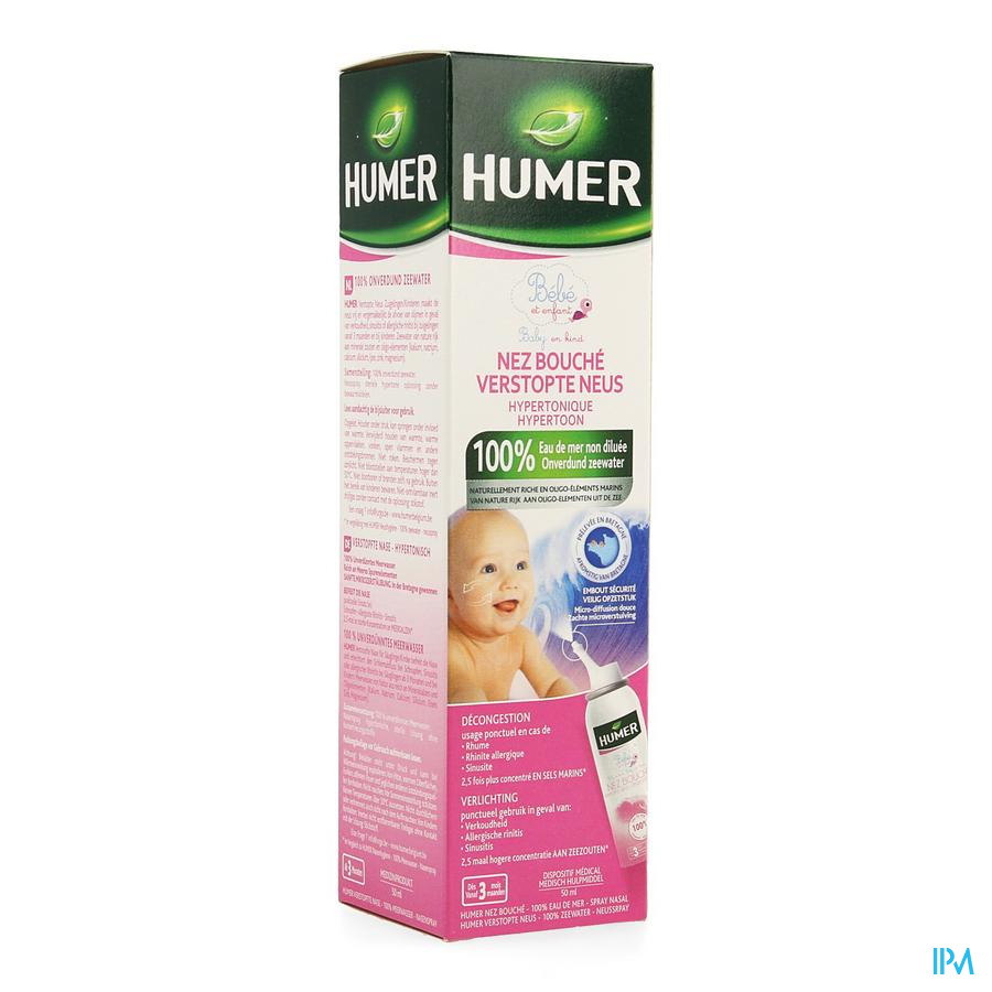 Humer Spray Hypertonisch Kind