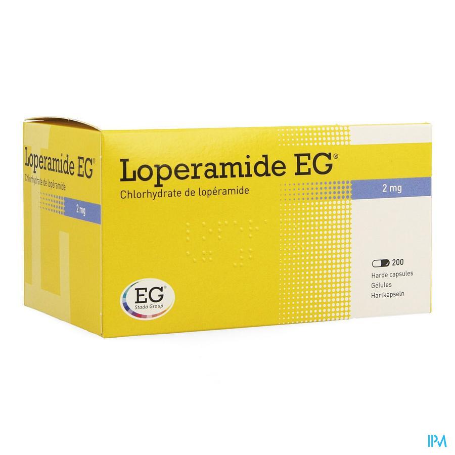 Loperamide EG / 200 capsules