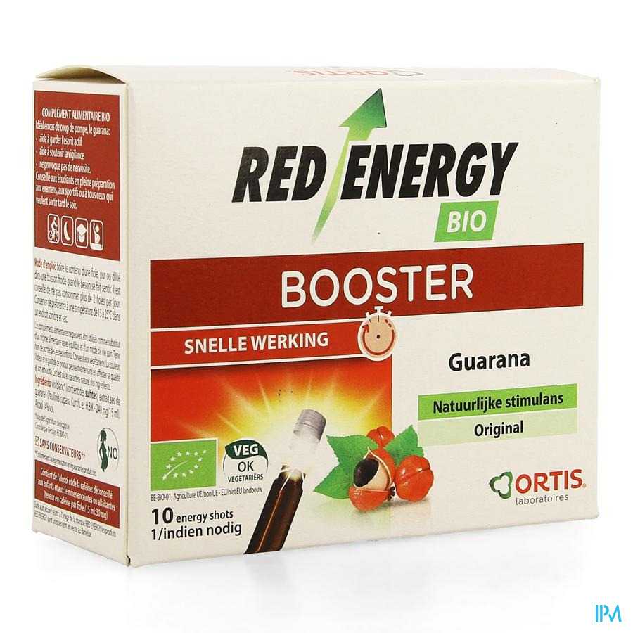 Red Energy (Met Alcohol) / 10 flesjes
