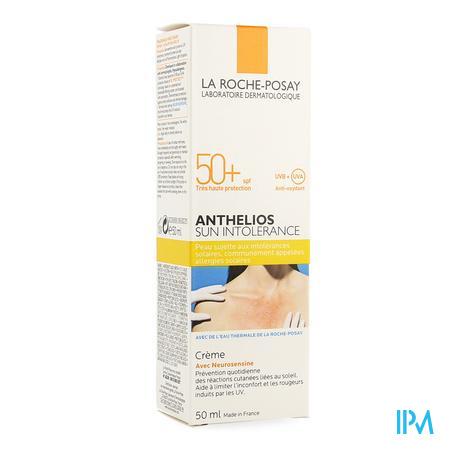 La Roche-Posay Anthelios Expert Sun Intolerance SPF 50+ Creme zonder parfum 50 ml