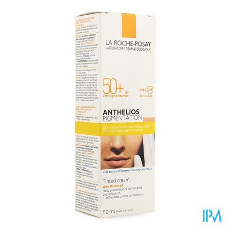 La Roche-Posay Anthelios Expert Pigmentation Getinte Creme SPF 50+ zonder parfum 50 ml