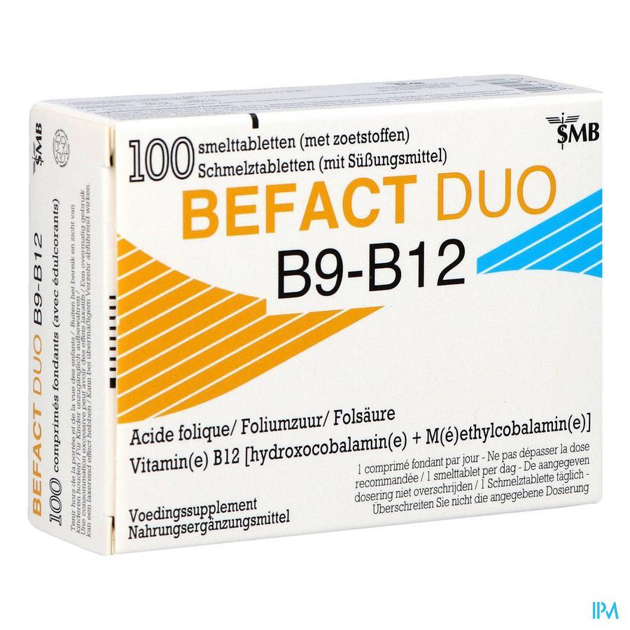 Befact Duo 100 tabletten
