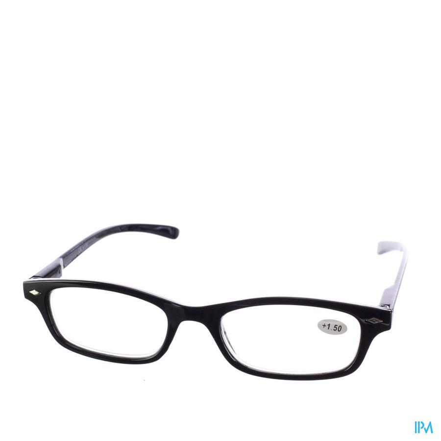 Leesbril Pharmaglasses Zwart +1,50