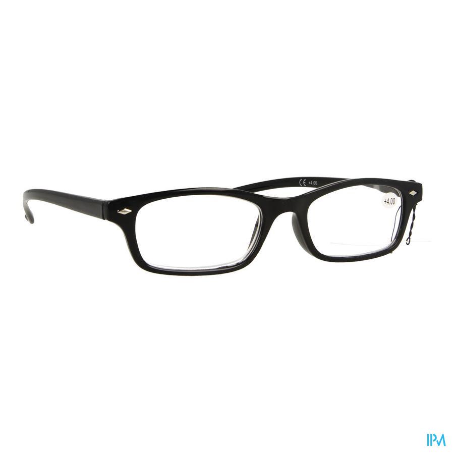 Leesbril Pharmaglasses Zwart +4,00