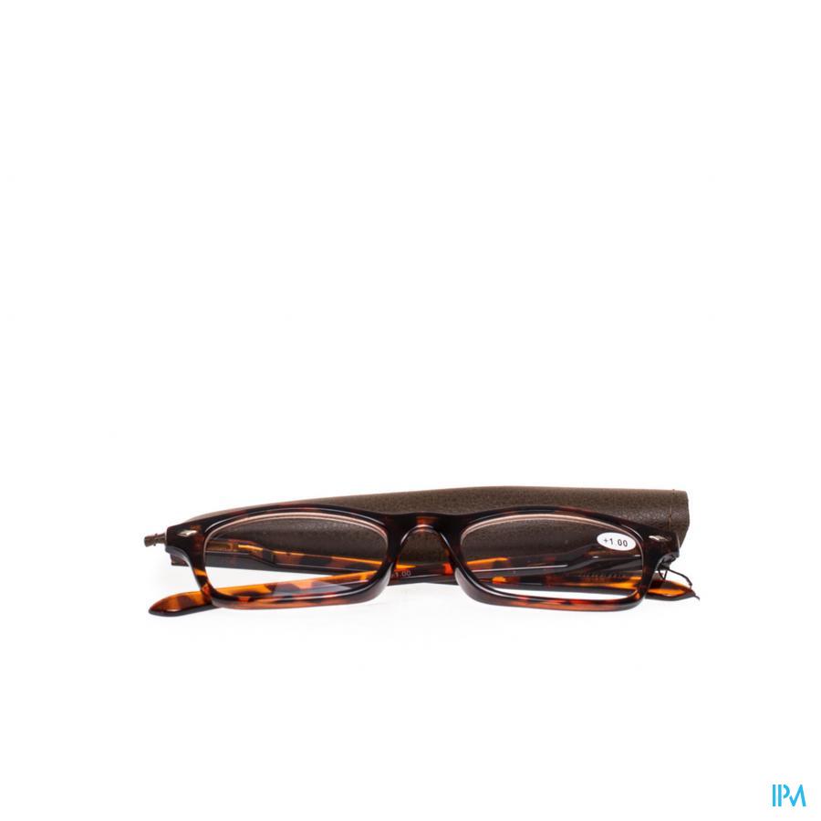 Leesbril Pharmaglasses Bruin +1,00