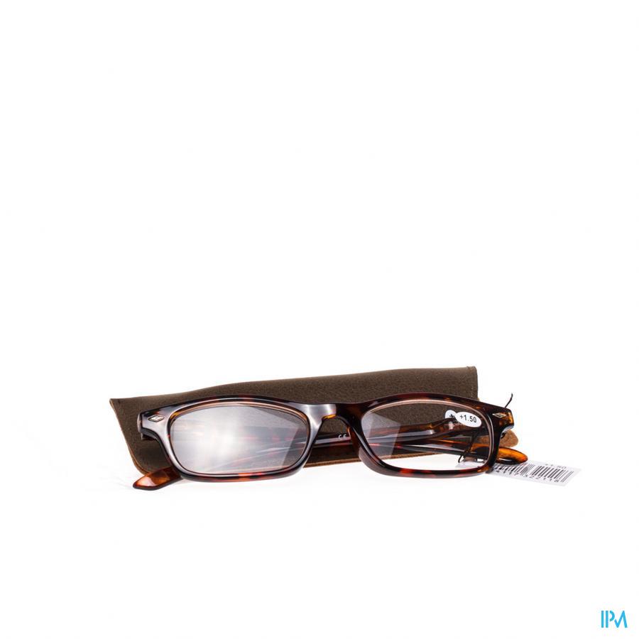 Leesbril Pharmaglasses Bruin +1,50