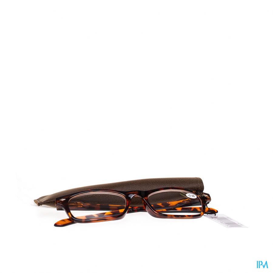 Leesbril Pharmaglasses Bruin +2,50