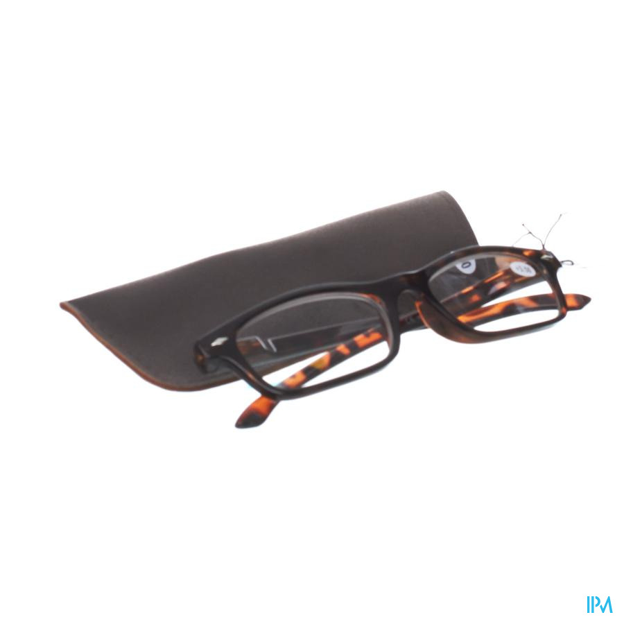 Leesbril Pharmaglasses Bruin +3,50