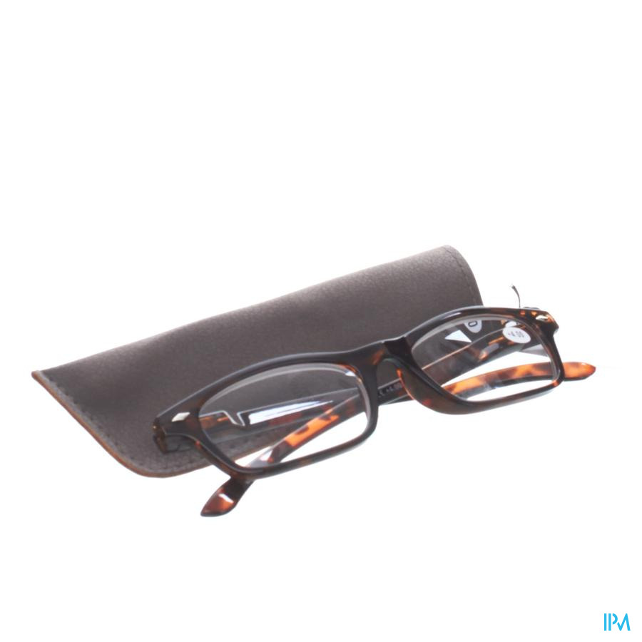 Leesbril Pharmaglasses Bruin +4,00