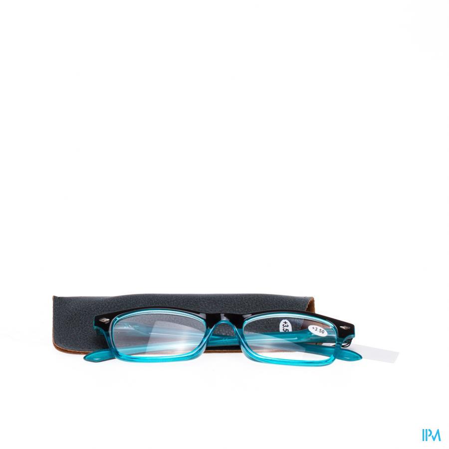 Leesbril Pharmaglasses Blauw +3,50