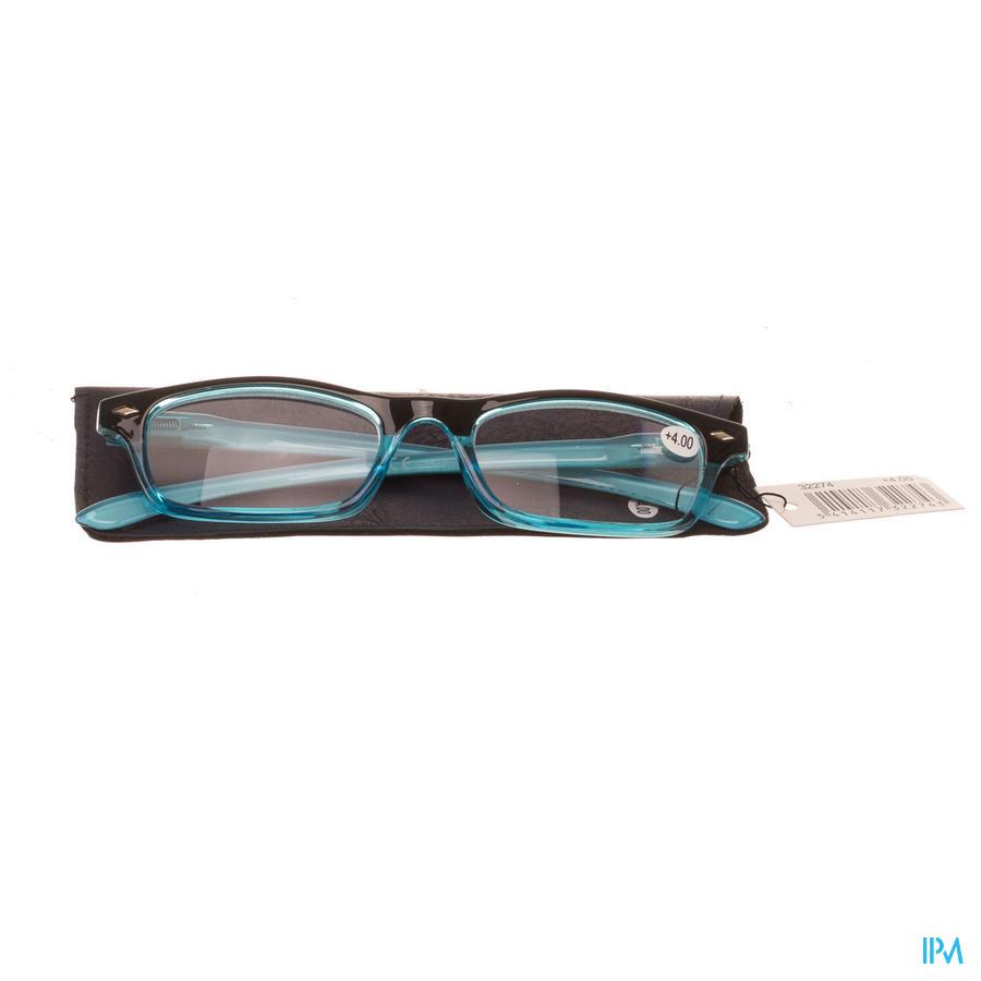 Leesbril Pharmaglasses Blauw +4,00