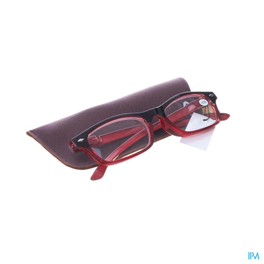 Leesbril Pharmaglasses Rood +4,00