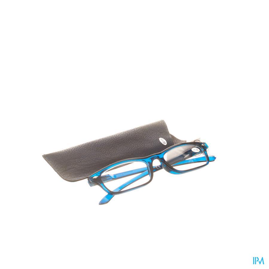 Leesbril Pharmaglasses Donkerblauw +1,00