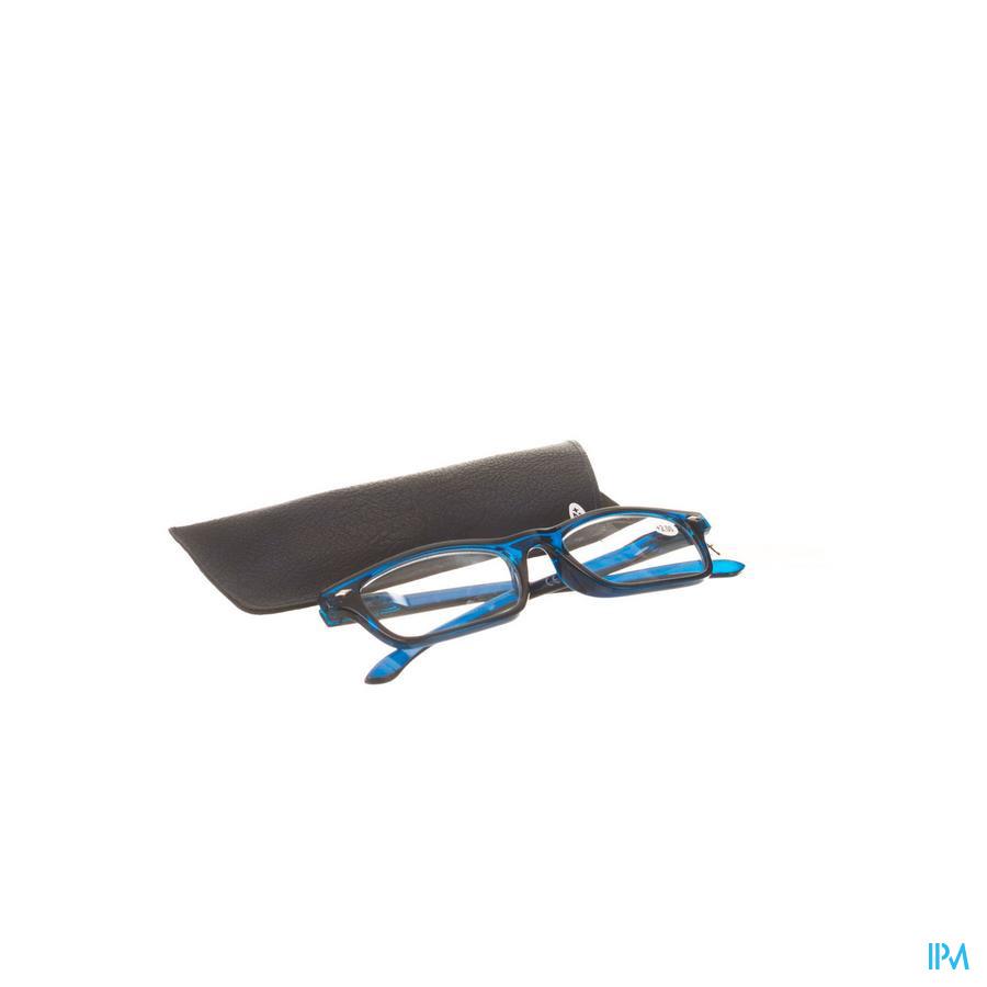Leesbril Pharmaglasses Donkerblauw +2,00
