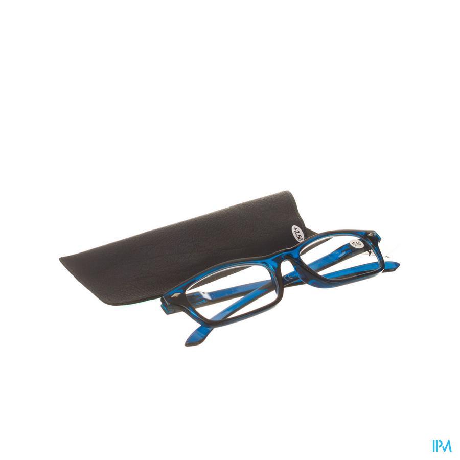 Leesbril Pharmaglasses Donkerblauw +2,50