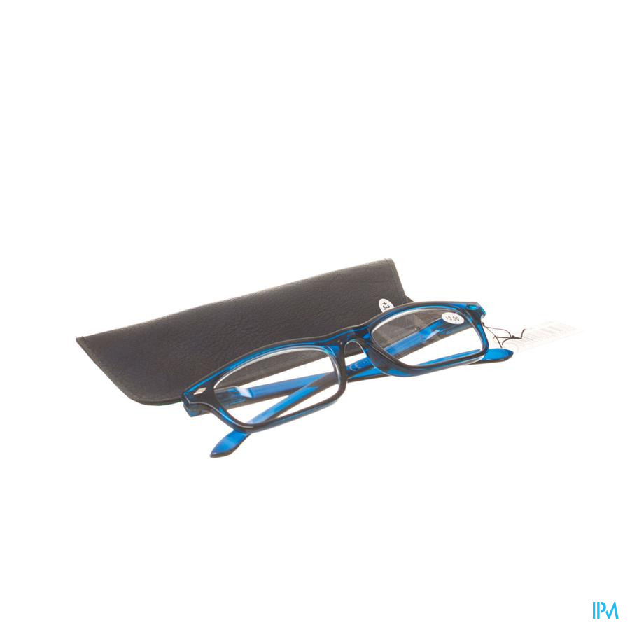 Leesbril Pharmaglasses Donkerblauw +3,00