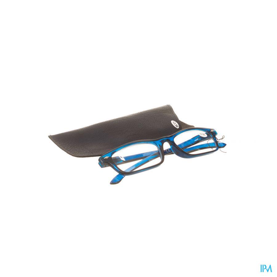Leesbril Pharmaglasses Donkerblauw +3,50