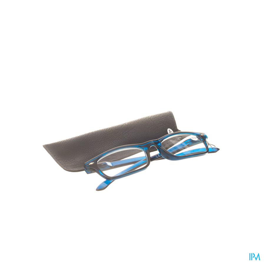 Leesbril Pharmaglasses Donkerblauw +4,00