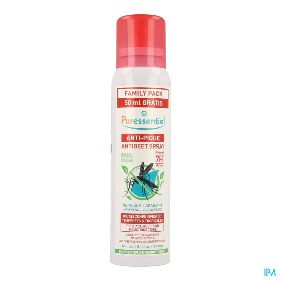 Puressentiel Anti-insect Spray 200ml