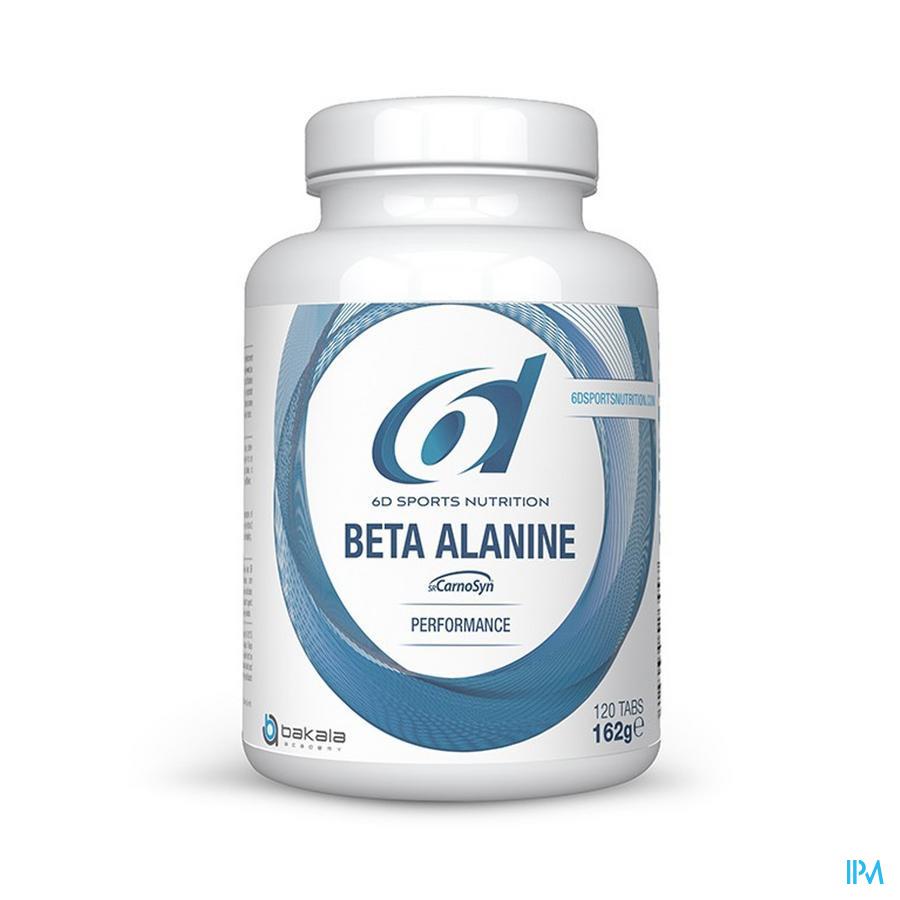 6d Sixd Beta Alanine Sustained Release 120 tabletten