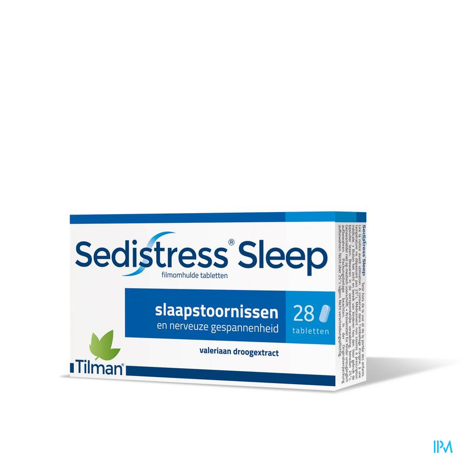 Sedistress sleep Filmomh 28 tabletten 28 x 500 mg