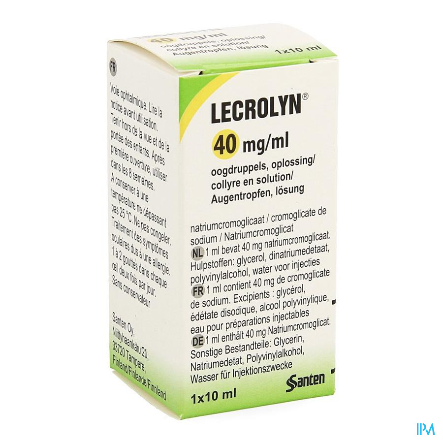 Lecrolyn oogdruppels 10ml