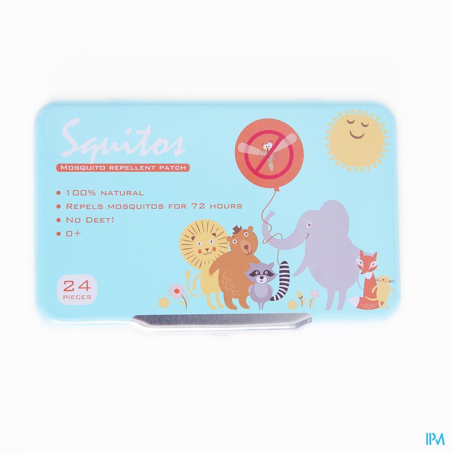Muggenstickers citronella baby Squitos 24 stickers