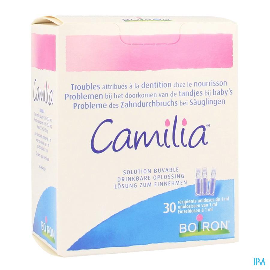 Camilia (verzacht symptonen eerste tandjes) 30 unidosissen van 1 ml