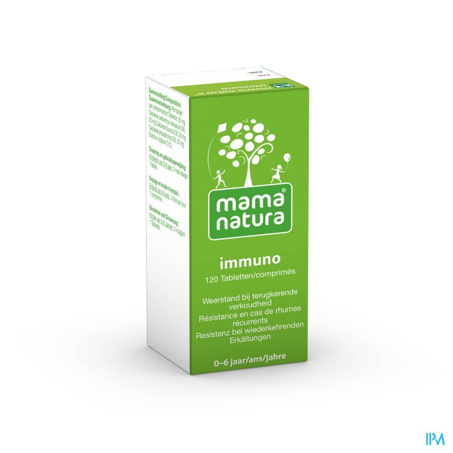 Mama Natura Immuno 120 tabletten