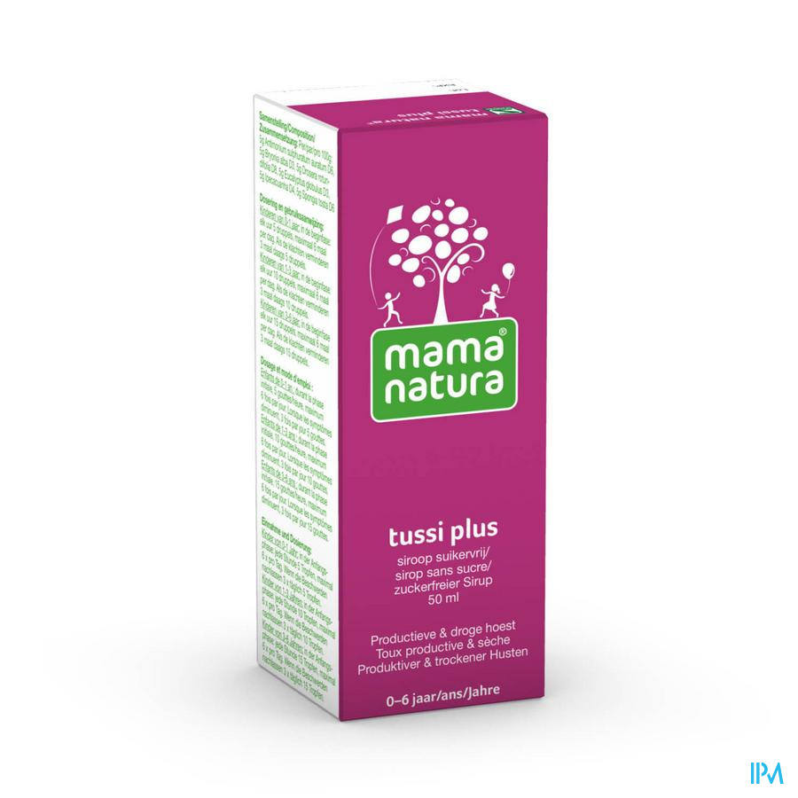 Mama Natura Tussi Plus Siroop 50 ml