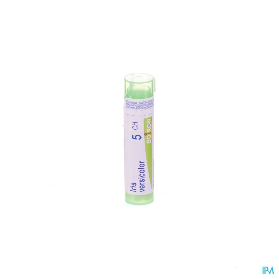 Iris versicolor 5CH granulen (maagzuur)