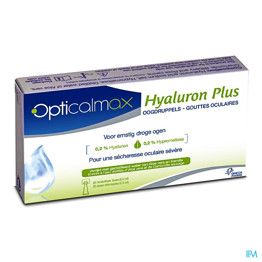 Opticalmax Hyaluron Plus per 20