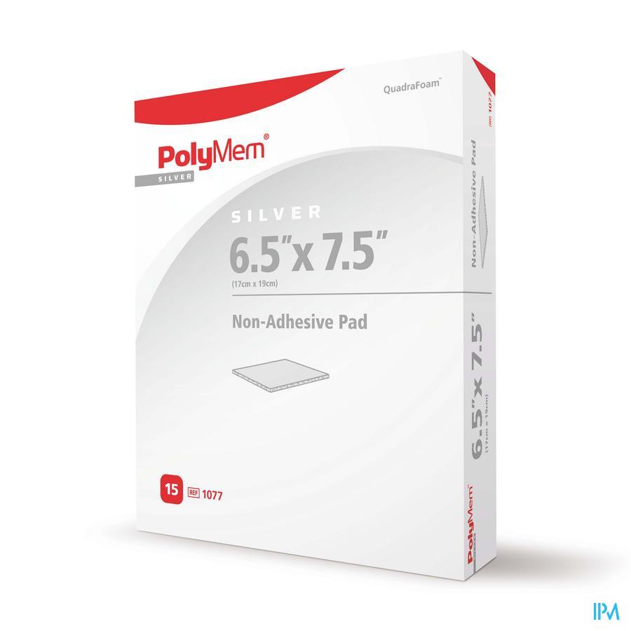 Polymem Silver Niet-klevend Pad 17cm x 19cm (15 stuks)